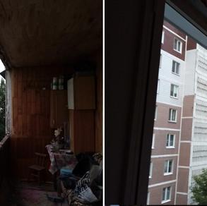 Остекление лоджии 6 метров в Серпухове
