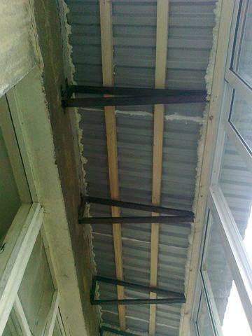 Крыша на балкон для окон