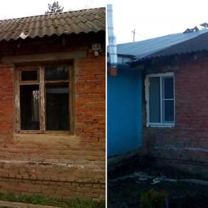Установка 4х пластиковых окон в Заокском районе д. Нижнее романово