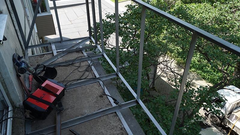 Расширение балкона Серпухов