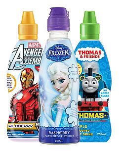 Kids drinks range supplied by AIDA