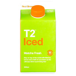 T2 Iced Matcha Tea supplier