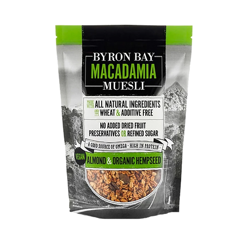 Byron Bay Muesli Almond and Help Seed