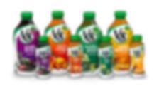 V8 Juice range supplied by AIDA