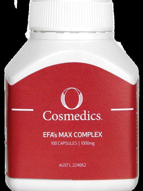 O EFA's Max Complex Supplements
