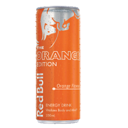 Red Bull Limited Edition Orange