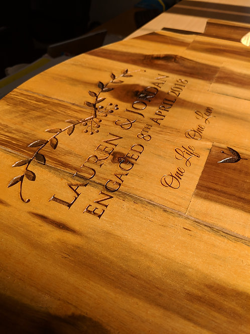 Large personalised boards