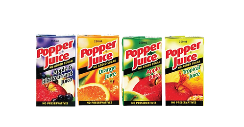 Popper Juice Range