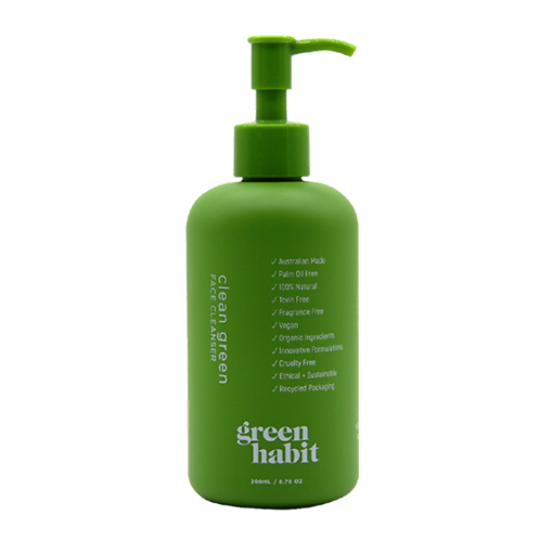 GREEN HABIT CLEAN GREEN FACE CLEANSER