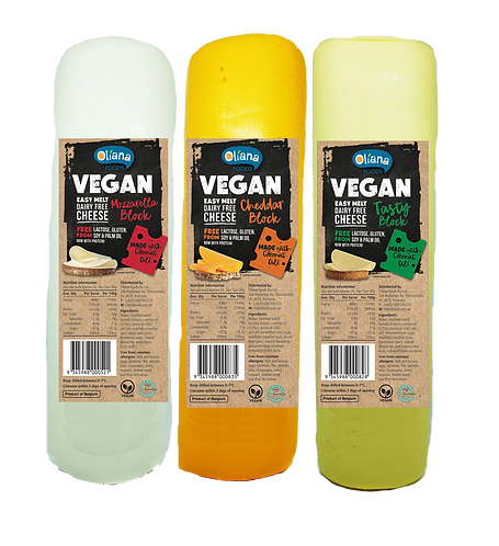 Oliana Vegan Cheese Logs