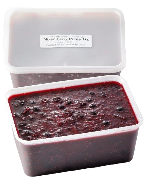 The Berry Man Mixed Berry Pure