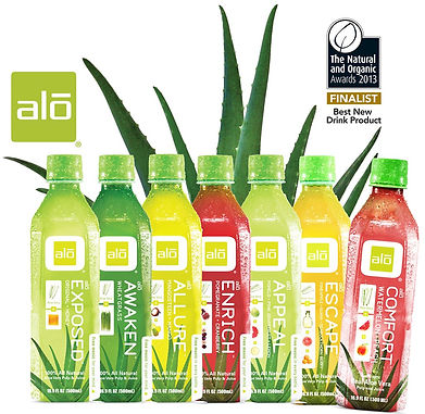 ALO-Functional Beverage range supplied by AIDA