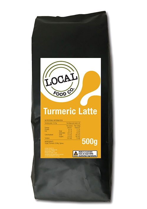 Local Food Co Tumeric Latte
