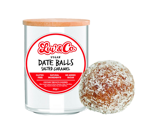Luv Sum Date Balls - Salted Caramel