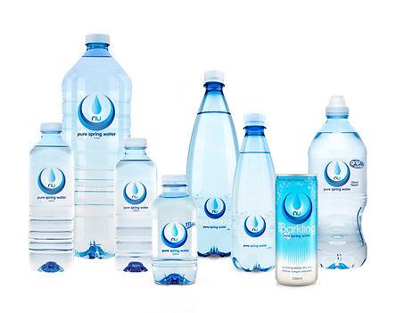 Nu Pure Springwater range supplied by AIDA