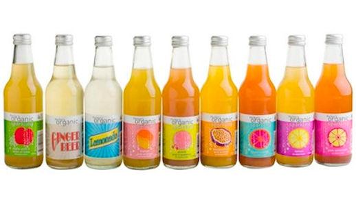 Parker's organics juice range supplied by AIDA