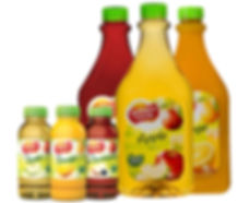 Golden Circle Juice range supplied by AIDA