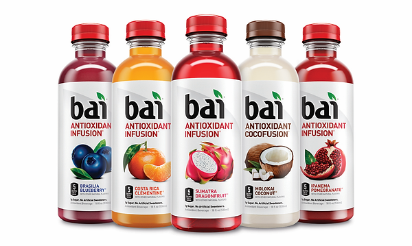 bai Antioxidant range supplied by AIDA
