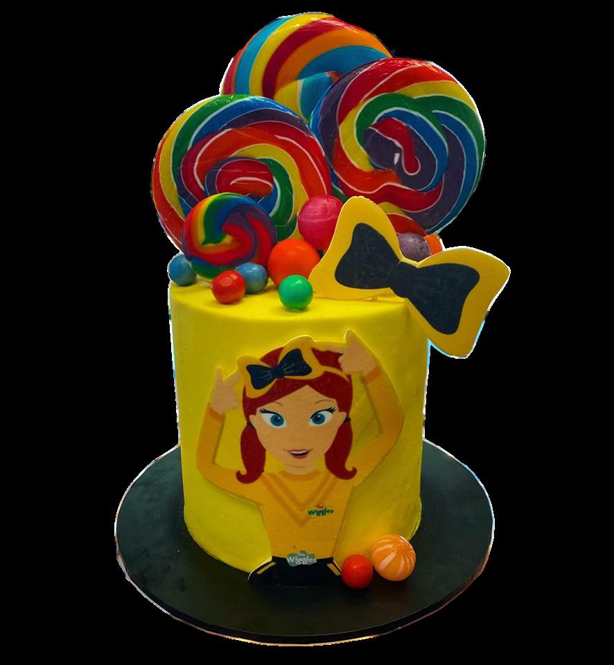 Emma Wiggle custom Mini drip cakes Gosfo