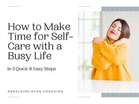 Life too busy for self-care?