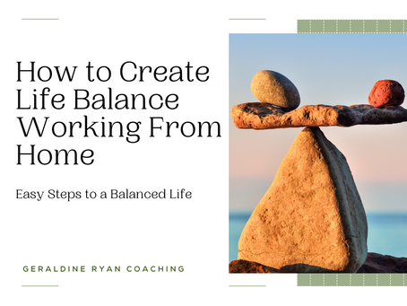Work-Life balance working from home?