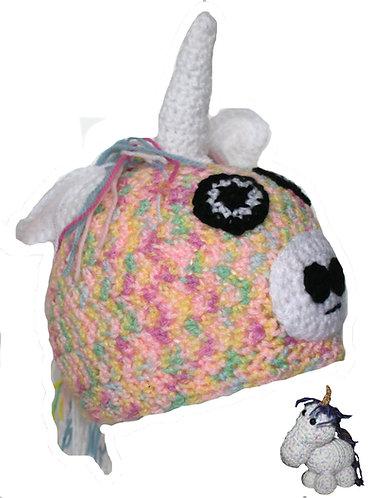 Unicorn Hat & Figure Set
