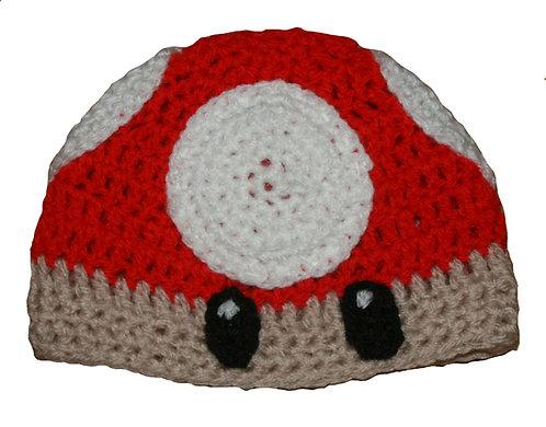Mario Mushroom Hat