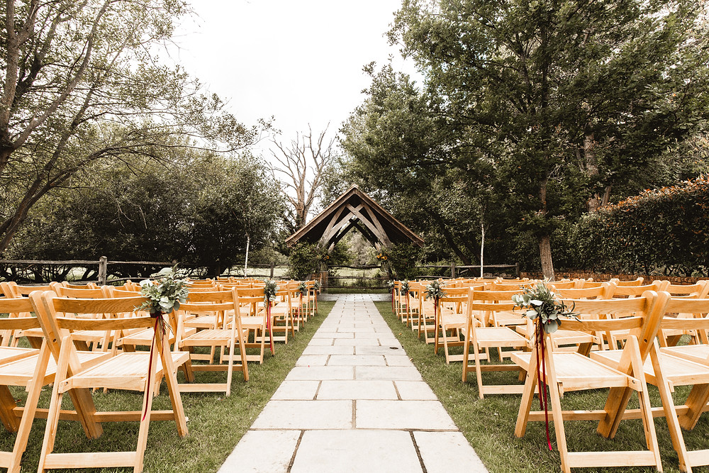 Millbridge Court outdoor summer wedding