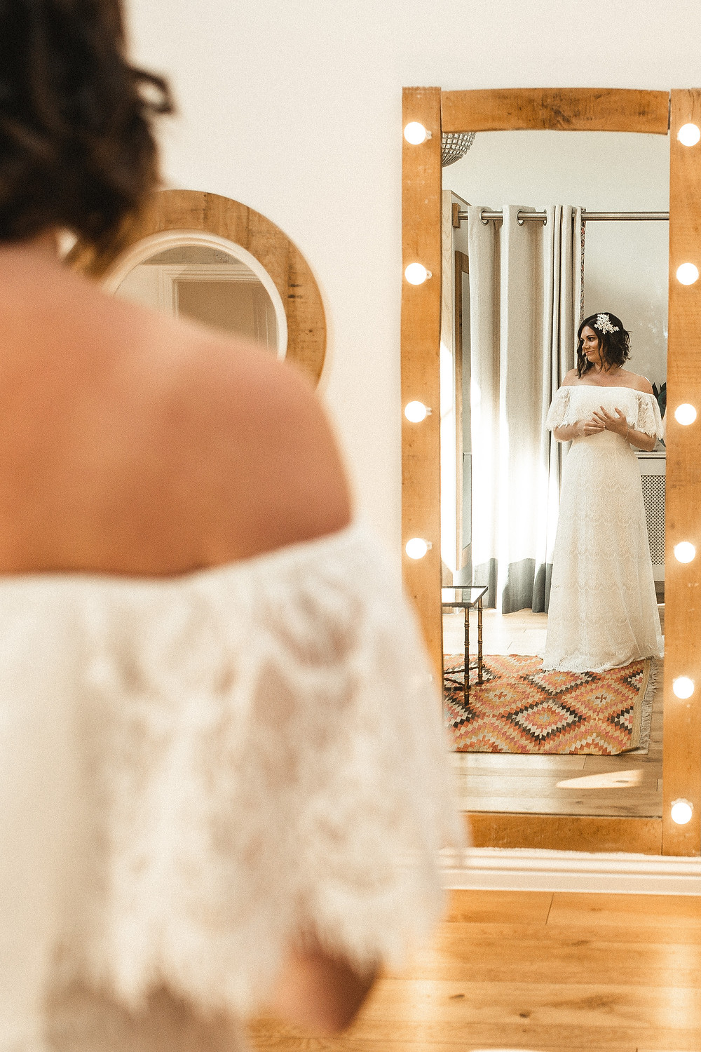 Millbridge Court bride prep