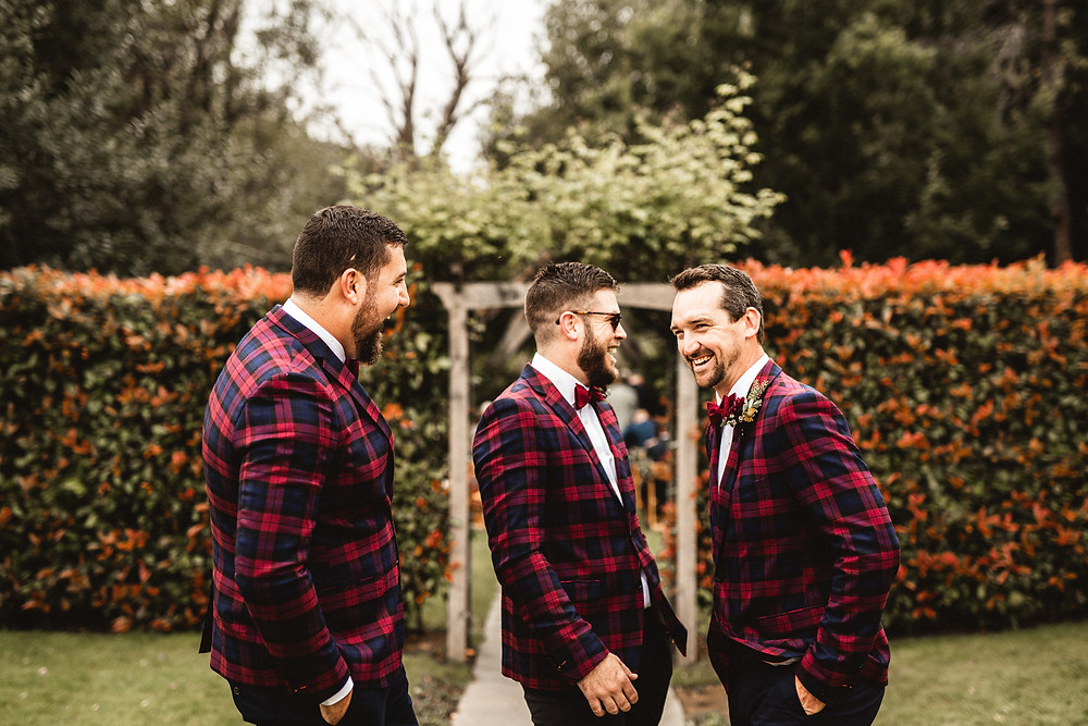 Millbridge Court groomsmen