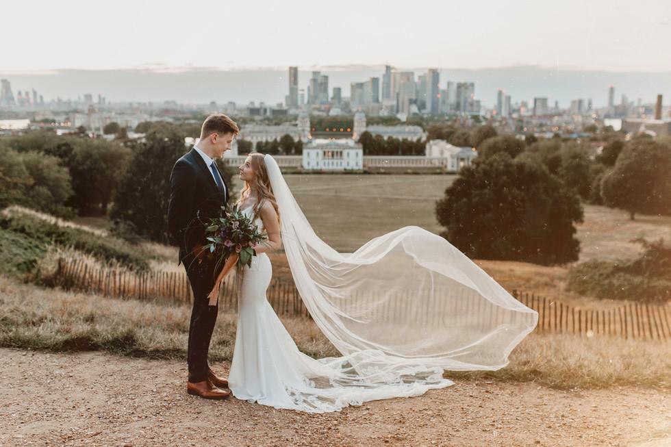 Greenwich Park elopement