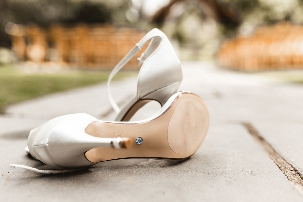 Millbridge Court wedding shoes