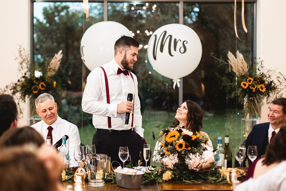 Millbridge Court groom speech