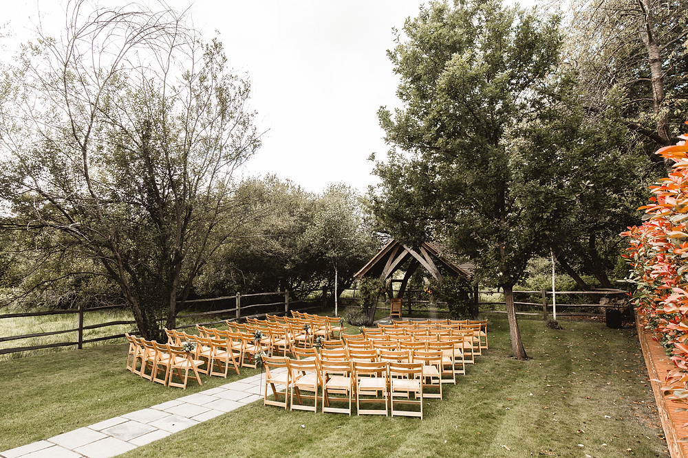 Millbridge Court outdoor wedding