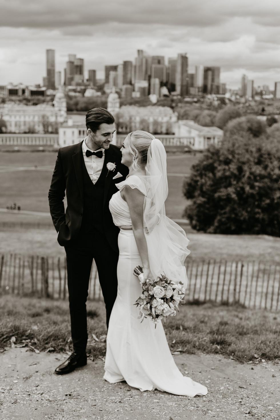 Greenwich Park wedding