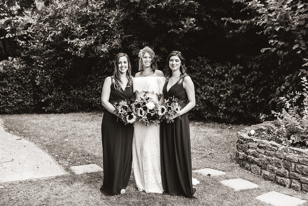 Millbridge Court bridesmaids