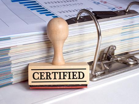 GDPR Sertifikat for virksomheter som dokumenterer Compliance med GDPR
