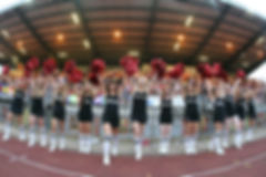 London Eclipse Cheerleaders London Skolars