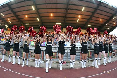 London Eclipse Cheerleaders London Skolars