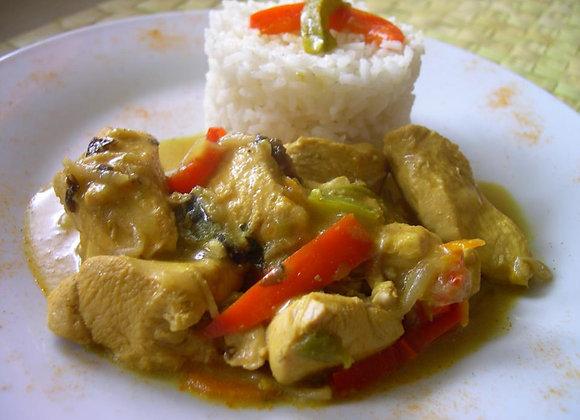 Poulet Thai pour 2 personnes