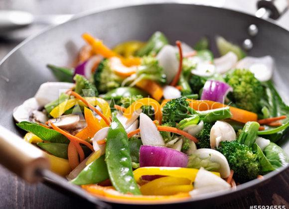 Wok végétarien pour 2 personnes