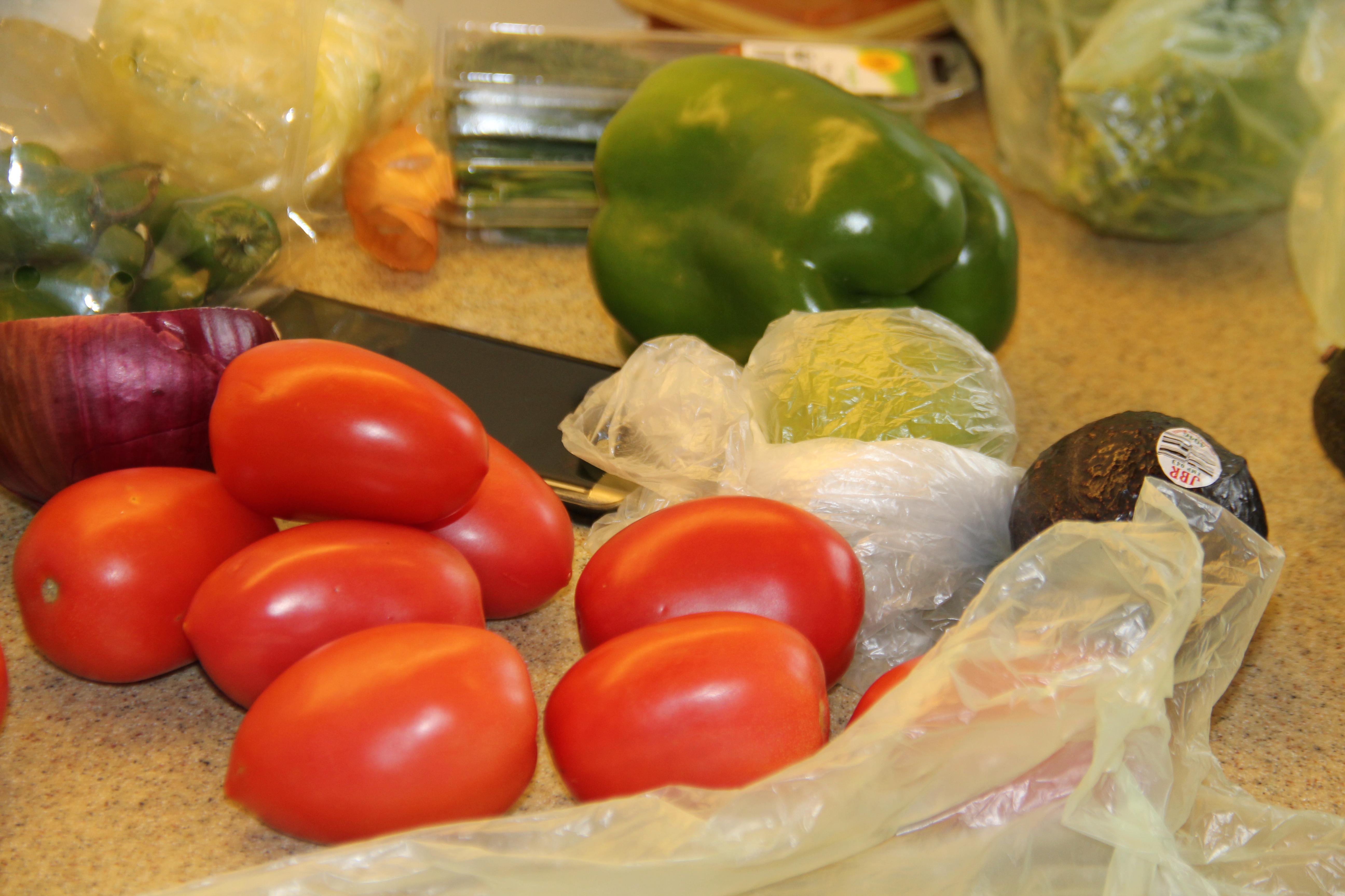 Minneapolis Farmers Market veggies