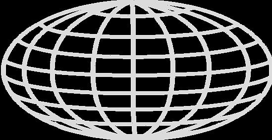 Public Domain Globe Outline Image