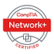 CompTIA Network+ Certified Badge