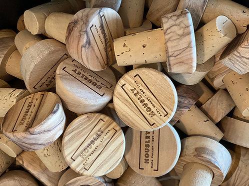 Olive Wood Cork Stopper