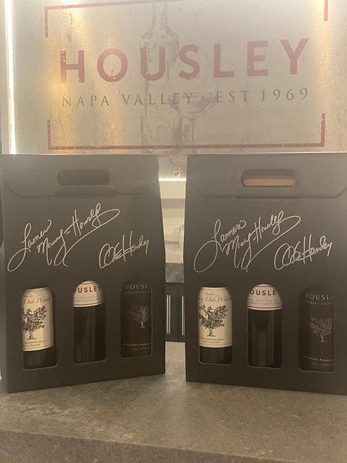 Signed Holiday Cabernet 3 Bottle Gift Pack
