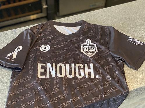 Enough Soccer Jersey