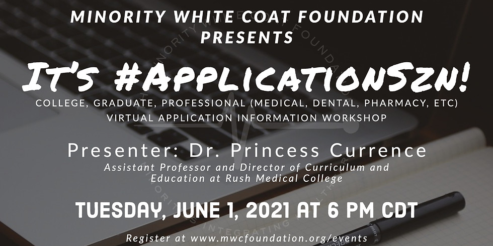 It's #ApplicationSzn! Application Workshop