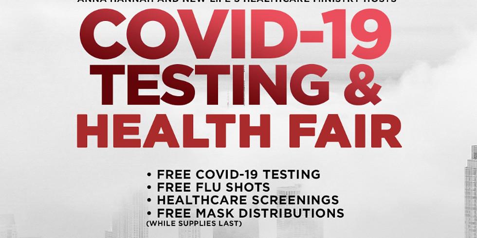 COVID-19 Testing and Health Fair