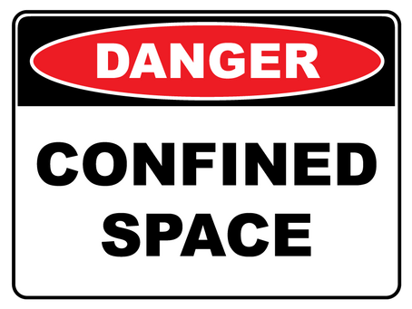 When does a space become confined?